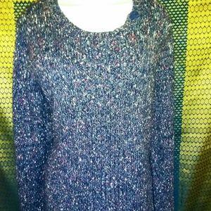 Christopher & Banks multi sweater XL